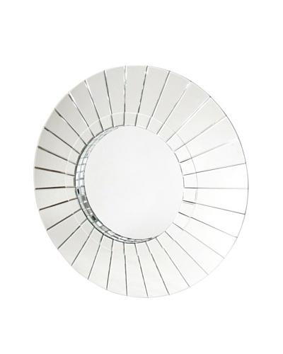 Charleston Kiren Round Beveled Mirror