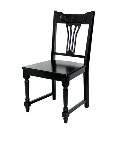 Charleston Tiger Chair, Dark Brown