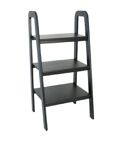 Charleston Ladder Stand, Black