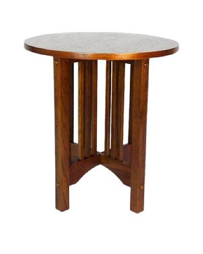 Charleston Oak Finish Table, Oak Finish