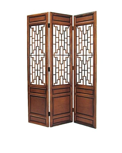 Charleston Cathay Screen, Walnut