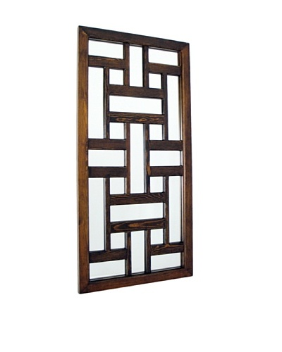Charleston Ninpo Mirror, Brown