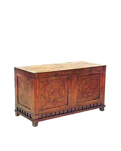 Charleston Bamboo Trunk, Walnut