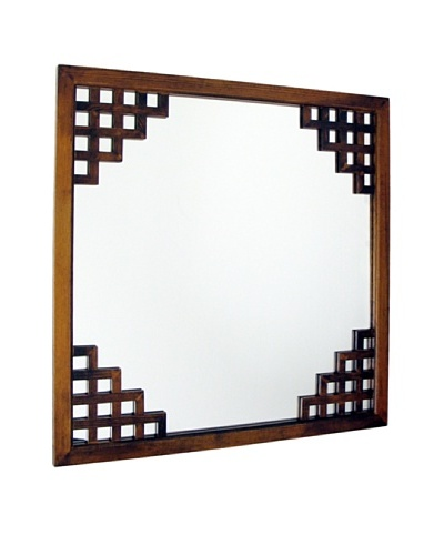 Charleston Paragon Mirror, Brown