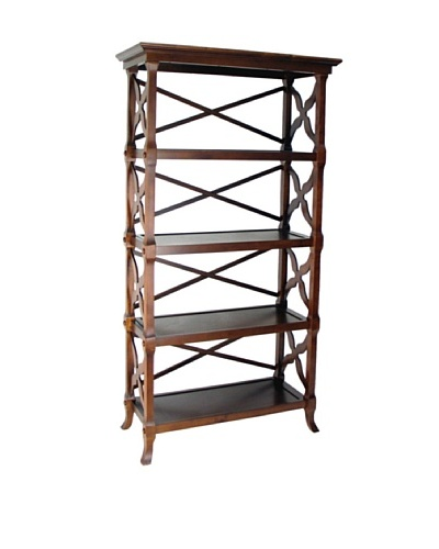 Charleston Charter Book Stand, Brown