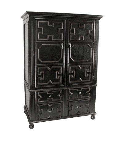 Charleston Younman Work Station, Antique Black