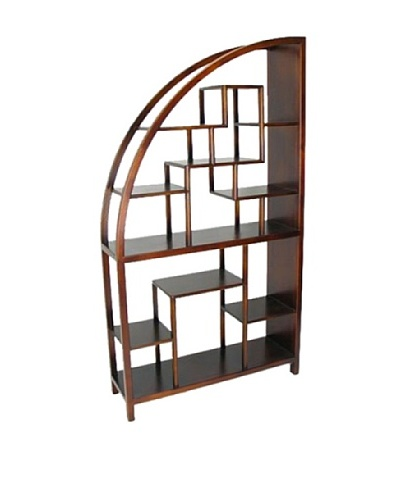 Charleston Hangchu Display Unit, Brown
