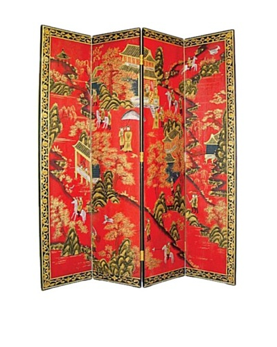 Charleston Asian Floor Screen, Multi