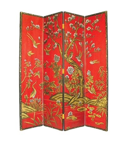 Charleston Tree of Life Red Screen, Multi