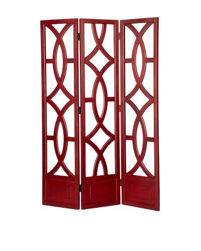 Charleston Furniture Geo Screen [China Red]
