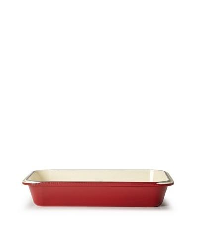 Chasseur 4-Quart Rectangular Gratin Pan [Red]