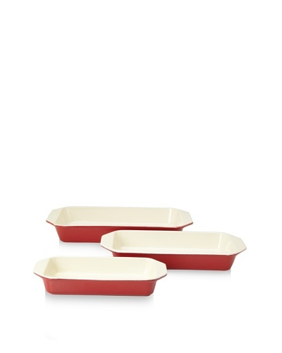 Chasseur 3-Piece Rectangular Gratin Baker Set