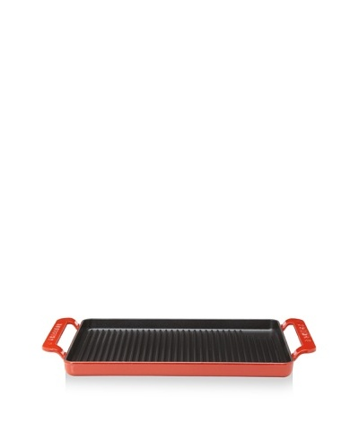 Chasseur Rectangular Double-Enameled Cast Iron Bistrot Grill