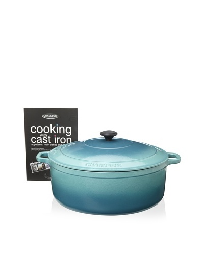 Chasseur Round Cast Iron Casserole with Lid