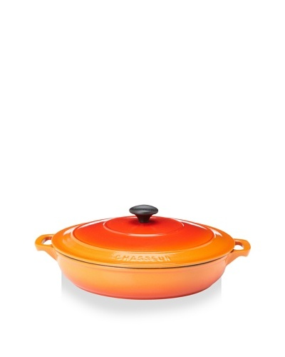 Chasseur 3.5 Qt. Double-Enameled Cast Iron Brazier with Lid