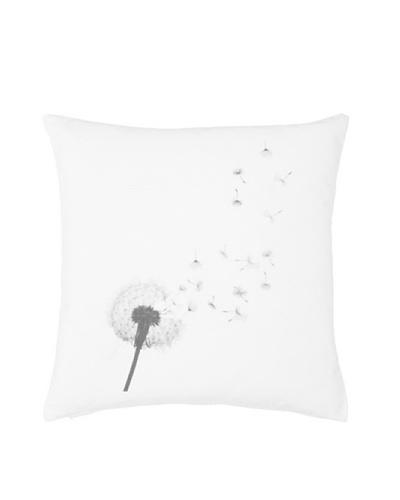 Chateau Blanc Dandelion Pillow, White, 20 x 20As You See