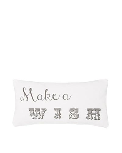 Chateau Blanc Wish Pillow, White, 10 x 20