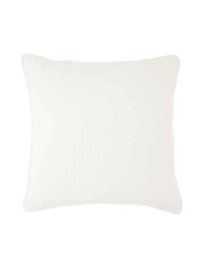 Chateau Blanc Transitional Euro Sham, Off-White