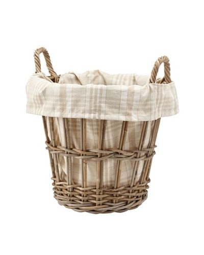 Chateau Blanc Kingston Small Rattan Basket, Brown/Neutral