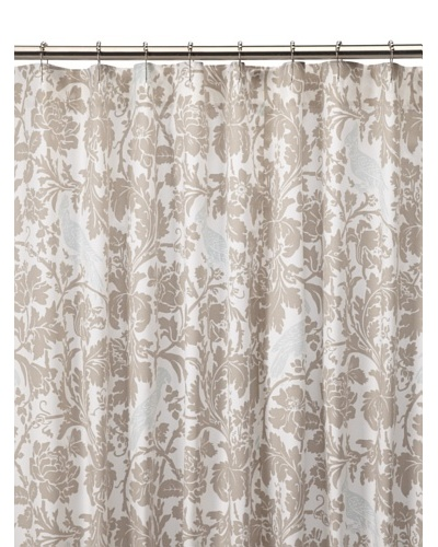 Chateau Blanc Sophie Shower Curtain, Neutral, 72 x 76