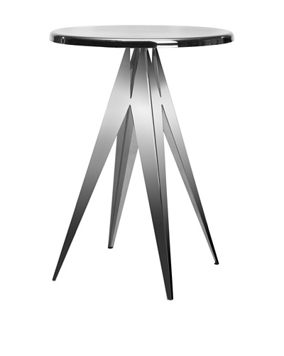 Safavieh Prism Stainless Steel Side Table, Silver