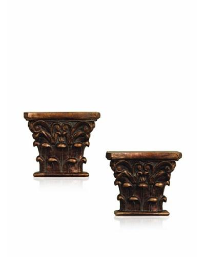 Port 68 Set of 2 Louis Wall Ornaments