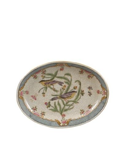 Oriental Danny Satin Grass Porcelain Soap Dish