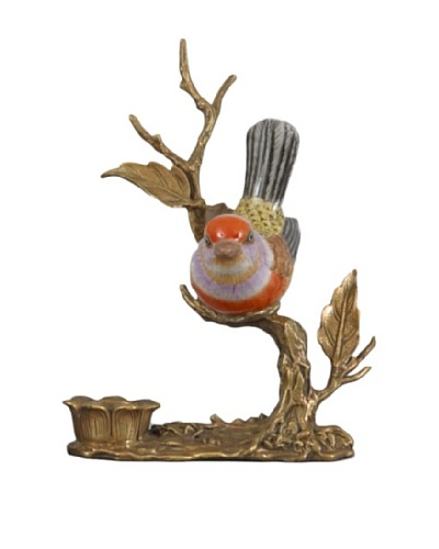Oriental Danny Bird Candle Holder