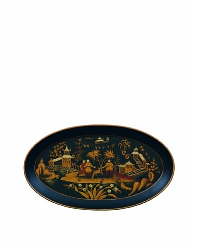 Port 68 Chinoiserie Oval Tray