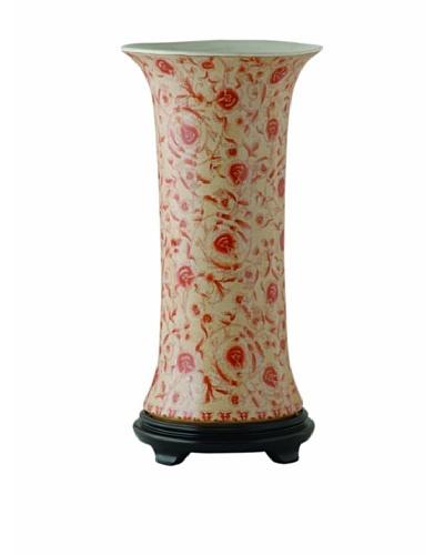 Port 68 Caroline Porcelain Vase with Wooden Stand