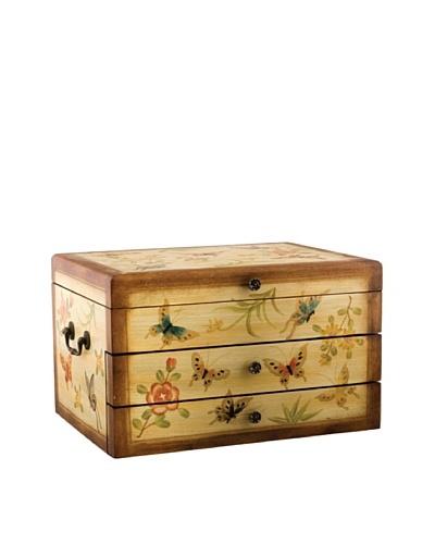 Oriental Danny Butterfly Flatware/Jewelry Box