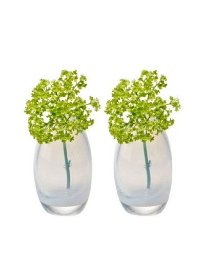 Chive Set of 2 Pearl Egg Vases