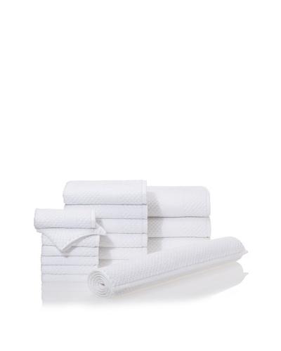 Chortex Honeycomb 16-Piece Bath Towel Set