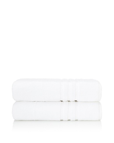 Chortex Set of 2 Irvington Bath Sheets, White