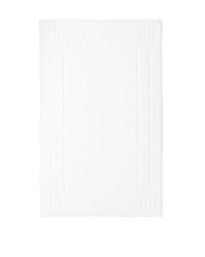 Chortex Rhapsody Royale Bath Mat, White, 22 x 36