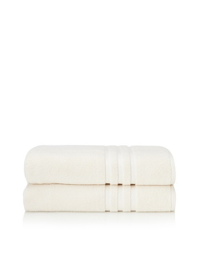 Chortex Set of 2 Irvington Bath Sheets, CreamAs You See