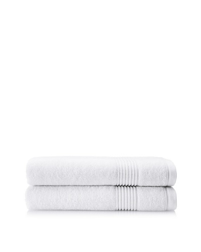 Chortex Ultimate Set of 2 Bath Sheets, White