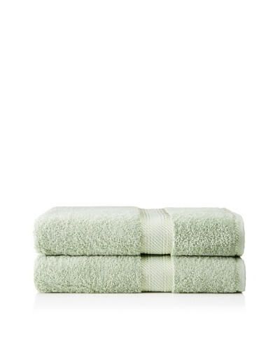 "Chortex Rhapsody Royale Set of 2 Bath Sheets, Meadow, 35"" x 60"""