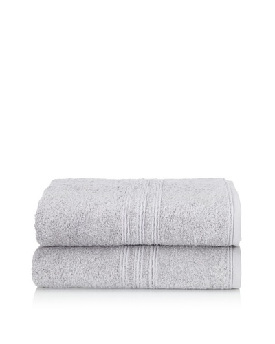 Chortex 2-Piece Imperial Bath Sheet Set, Steel