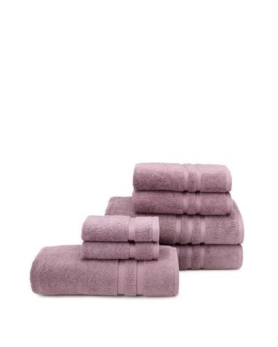 Chortex 7-Piece Irvington Bath Towel Set, Grape