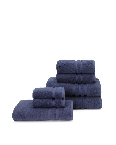Chortex 7-Piece Irvington Bath Towel Set, Navy