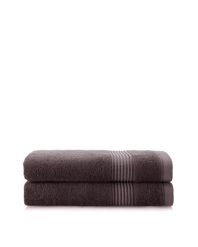 Chortex Ultimate Set of 2 Bath Sheets, Charcoal