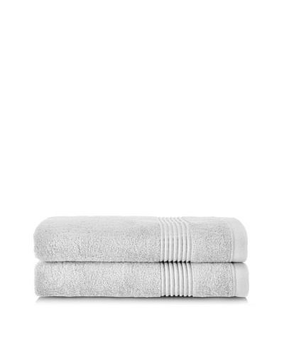 Chortex Ultimate Set of 2 Bath Sheets, Silver