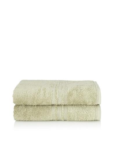 Chortex 2-Piece Imperial Bath Sheet Set, Sage