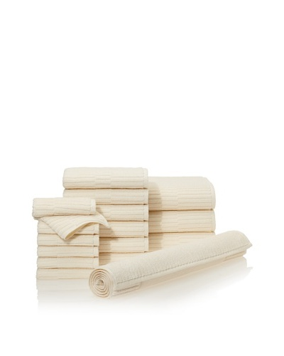 Chortex Oxford 16-Piece Bath Towel Set, AlmondAs You See