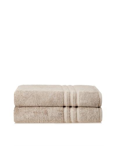 Chortex Set of 2 Spa Bath Sheets, Flax