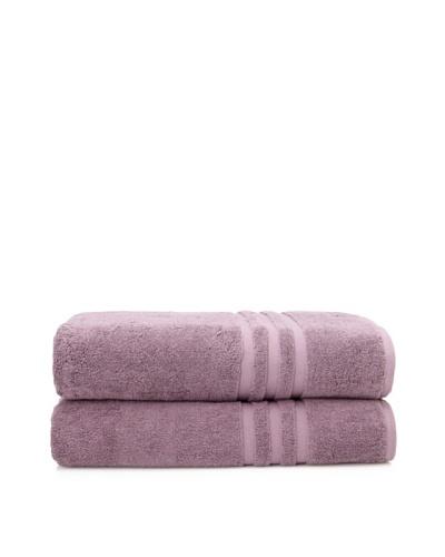 Chortex Set of 2 Irvington Bath Sheets, GrapeAs You See