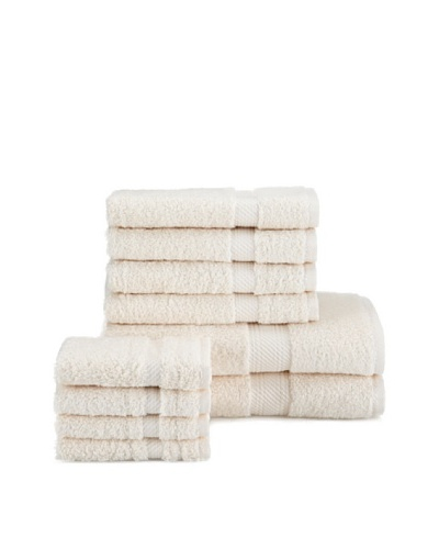 Chortex Rhapsody Royale 10-Piece Towel Set, Oyster