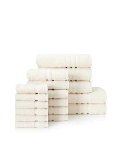 Chortex Irvington 17-Piece Towel Set, CreamAs You See