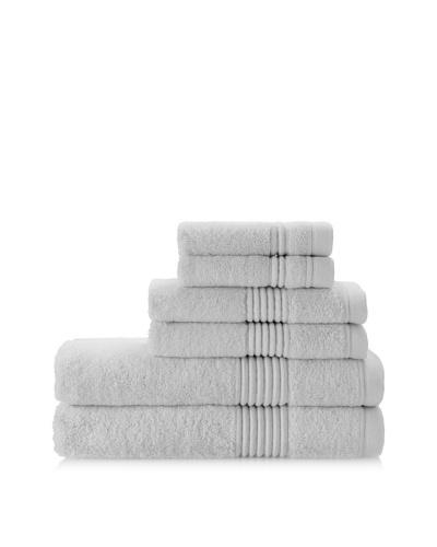 Chortex Ultimate 6-Piece Towel Set, Silver